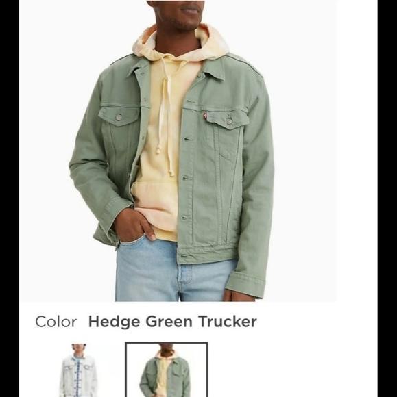 Mint green Levi's Jean Jacket
